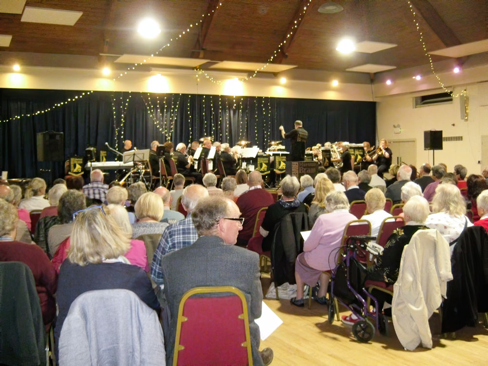 Read more about the article Thanks to the generosity of Faversham Mission Band's Concert October