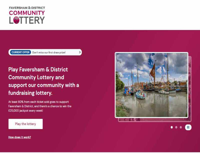Read more about the article Play Faversham & District Community Lottery